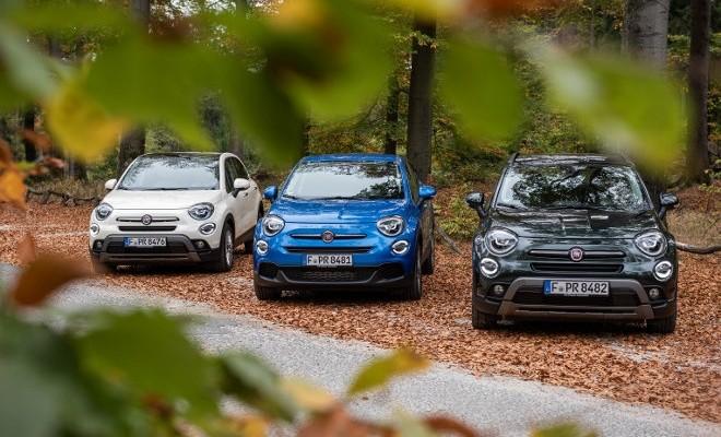 Fiat 500 X Facelift, unterschiedliche Modelle 2018