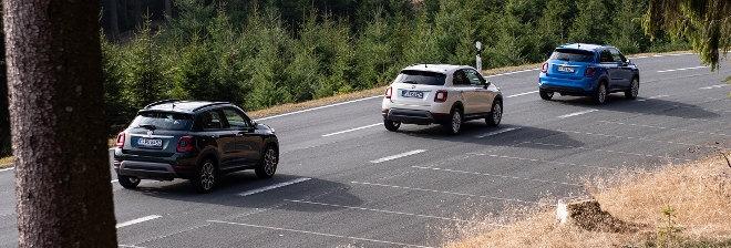 Fiat 500 X Facelift unterschiedliche Modelle 2018