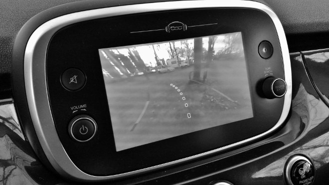 Fiat 500X Facelift Kamera