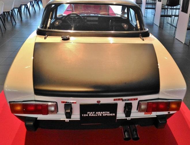Fiat Abarth 124 Rally Spider