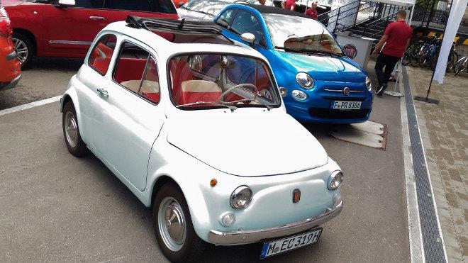 Fiat 500 erstes Modell weiss