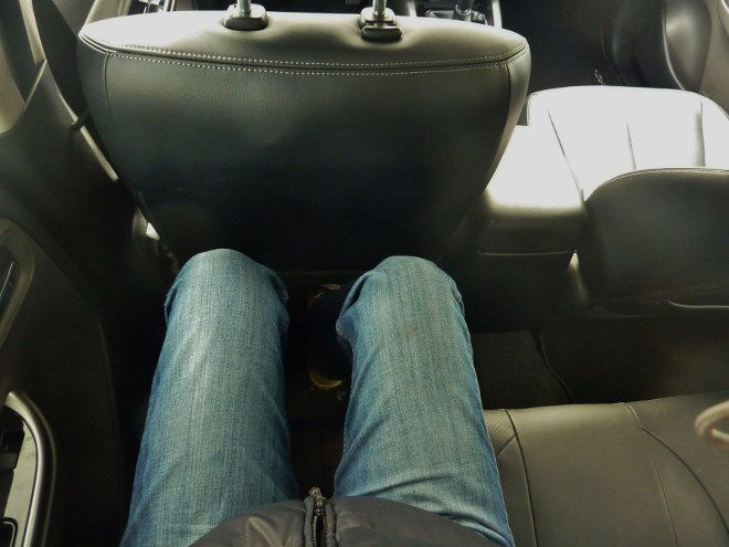 Fiat Fullback Pickup Beinfreiheit hinten