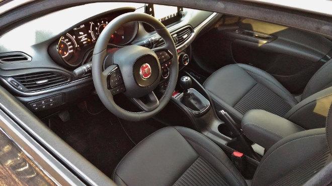Fiat Tipo Interior 2018, Innenraum