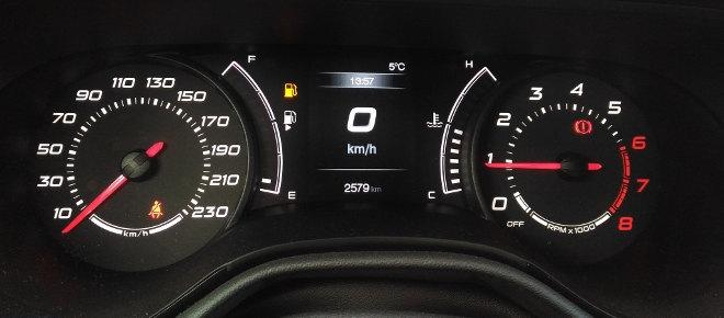Fiat Tipo Kombi 2018, Tacho, Instrumente