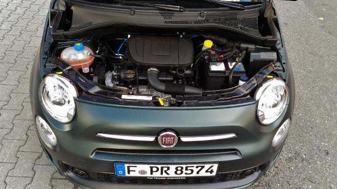 70 PS Hybrid Molor Dreizylinder Fiat 500 Hybrid