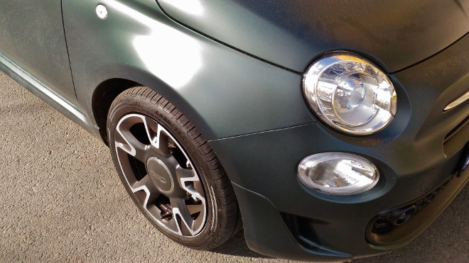 Scheinwerfer und Nebelscheinwerfer Fiat 500 Hybrid
