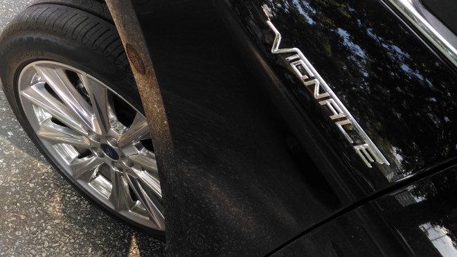 Ford Edge Vignale Felge, Schriftzug, Logo