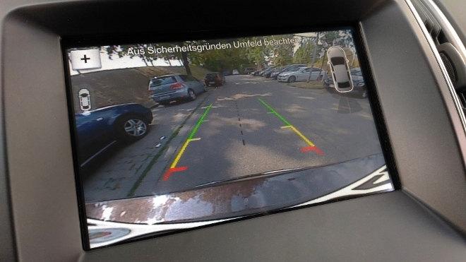 Ford Edge Kamera, Übersicht, Übersichtlichkeit
