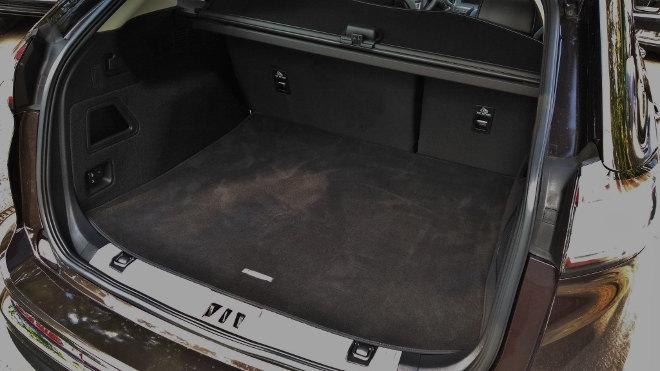 Ford Edge Vignale Kofferraum, Volumen, Tiefe