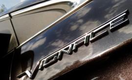 Ford Edge Vignale Logo, Schriftzug, Chrom