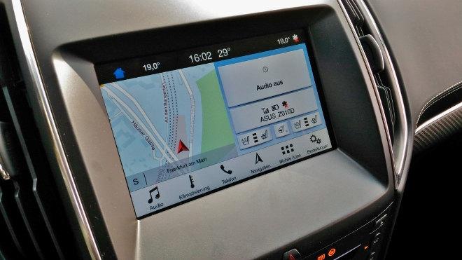 Ford Edge Vignale Monitor, Bildschirm, Touchscreen