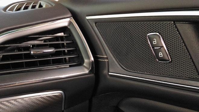 Ford Edge Vignale Tür verschliessen, Schalter