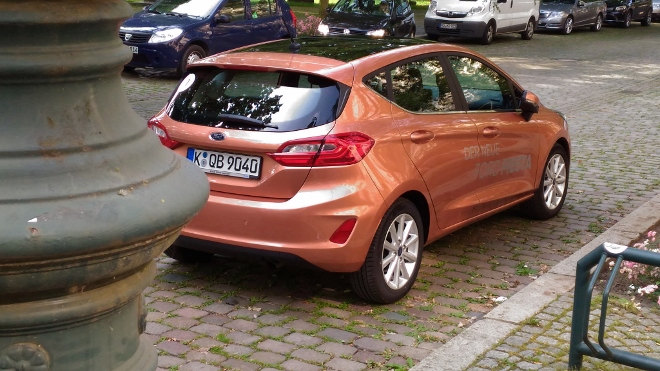 Ford Fiesta 8 2017 Design
