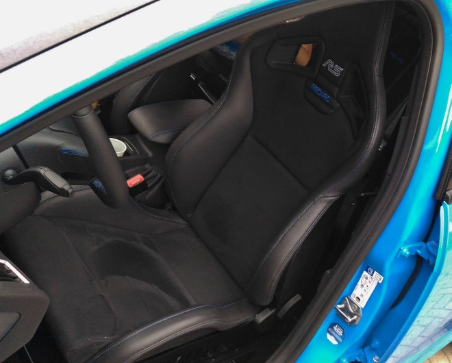 Ford Focus RS interior Recaro Sitze