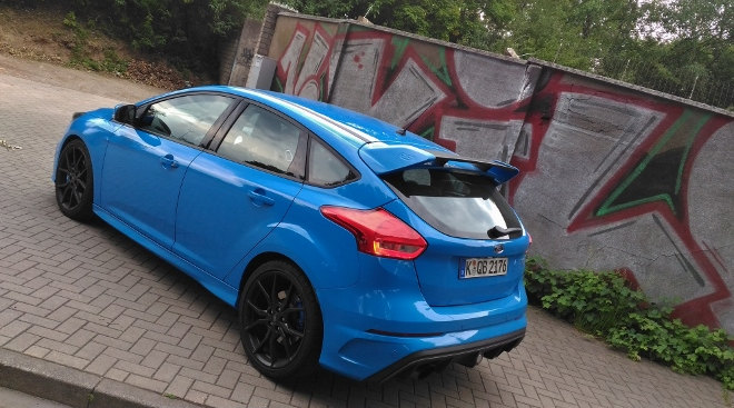Ford Focus RS exterior Heck Seite