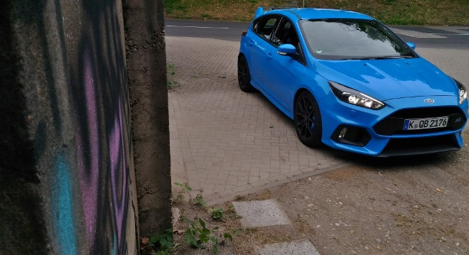 Ford Focus RS exterior Front