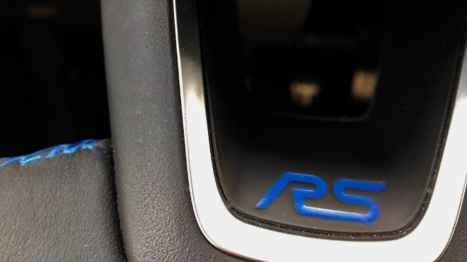 Ford Focus RS interior Lenkrad