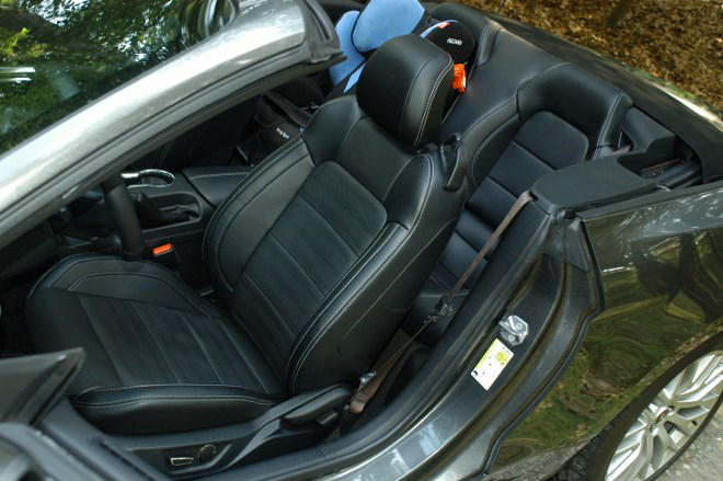 Ford Mustang Cabrio Ledersitze