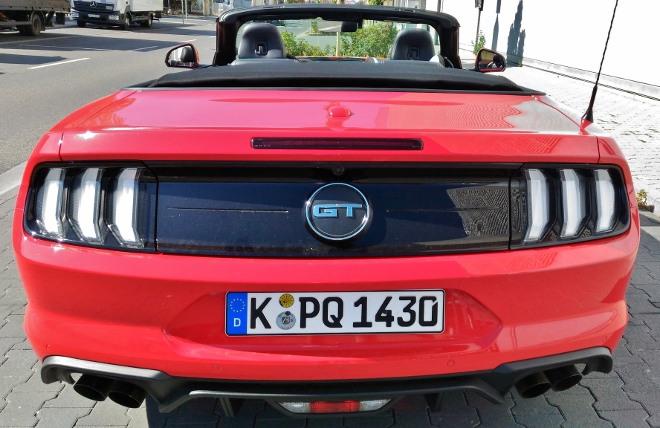 Heck Mustang Cabrio V8 Facelift Mustang Cabrio V8 Facelift