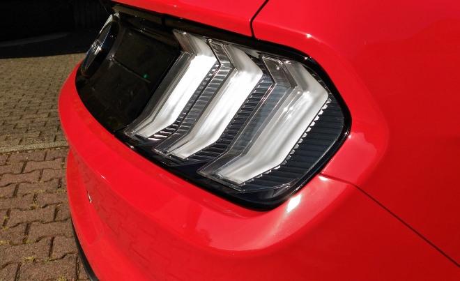 Heckleuchten Mustang Cabrio V8 Facelift Mustang Cabrio V8 Facelift