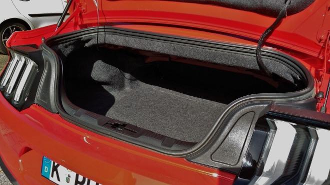 Kofferraum Volumen Kofferraum VolumenMustang Cabrio V8 Facelift Mustang Cabrio V8 Facelift