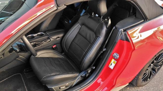 Ledersitze Ledersitze Mustang Cabrio V8 Facelift