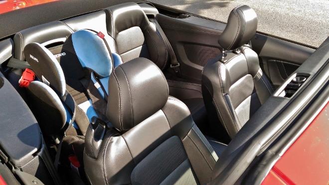 Viersitzer Mustang Cabrio V8 Facelift