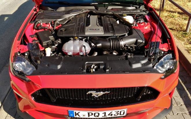V8 Motor 450 PS Mustang Facelift