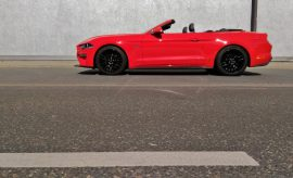 totes Mustang Cabrio V8 Facelift