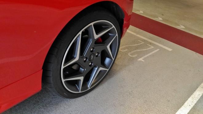 Ford Fiesta ST 200 PS 3Zylinder Felge