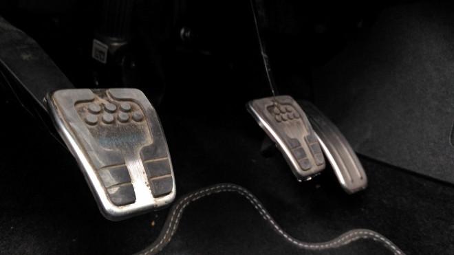 Ford Fiesta ST Dreizylinder, Pedale