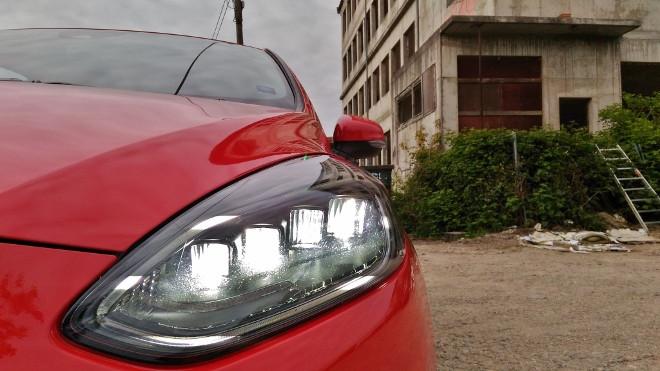 Ford Fiesta ST 200 PS-Dreizylinder, Scheinwerfer