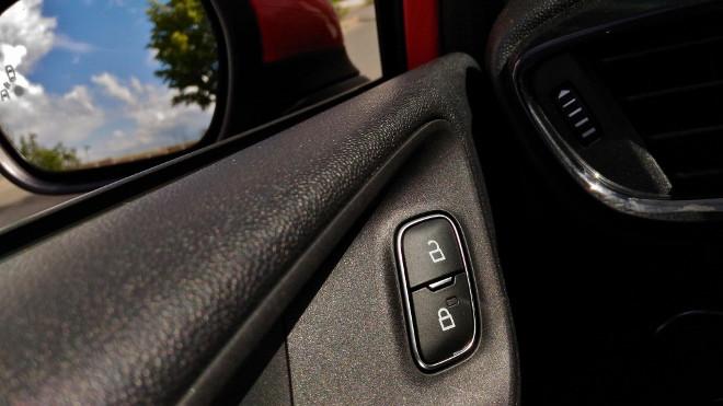 Ford Fiesta ST Dreizylinder, Tür zu Taste