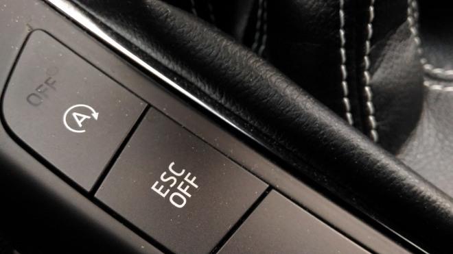 ESP off Ford Focus ST 280 PS