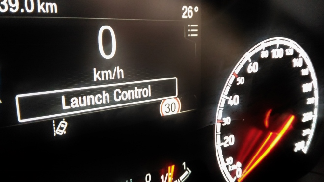 Launch control Ford Focus ST 280 PS
