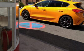 Ford Focus ST 280 PS orange