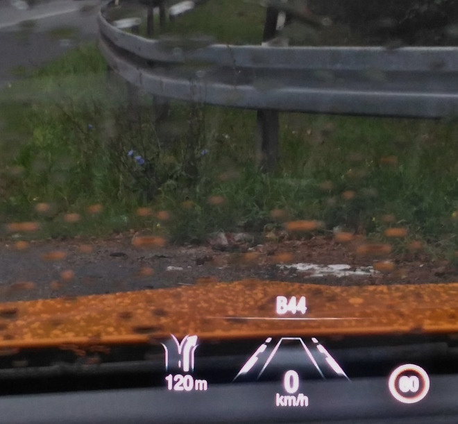 Head up Display Ford Focus ST 280 PS