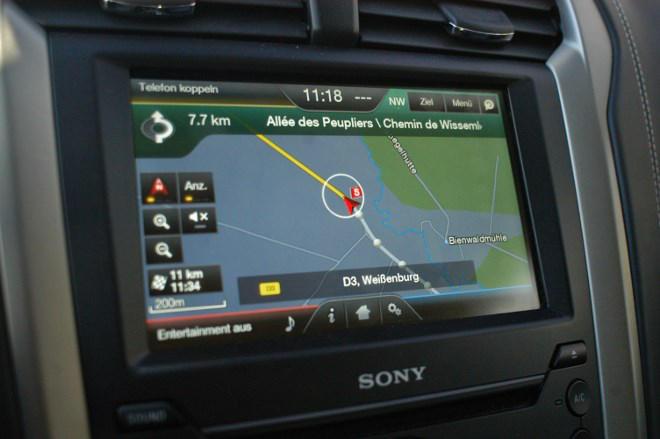 Mondeo Turnier Vignale Touchscreen