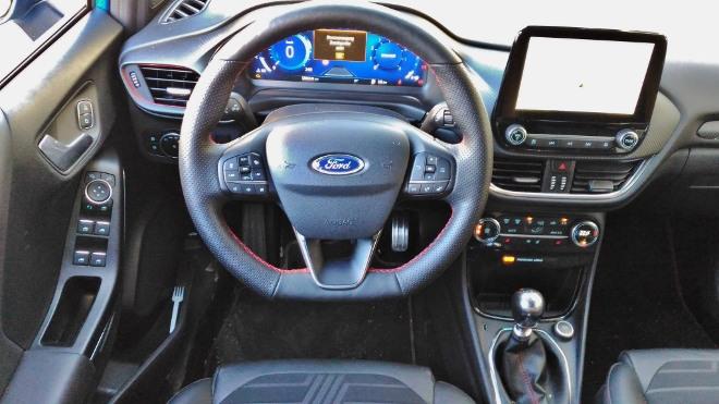 Ford Puma Hybrid Cockpit