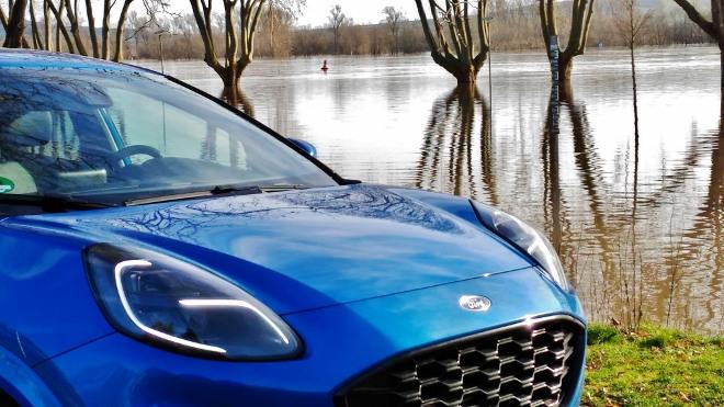 Ford Puma Hybrid Test