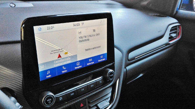 Ford Puma Hybrid Touchscreen Bildschirm