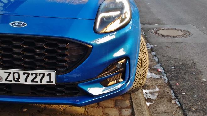 Ford Puma Hybrid Grill und Lufteinlass