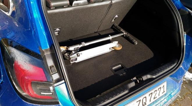 Ford Puma Hybrid Kofferraum Volumen