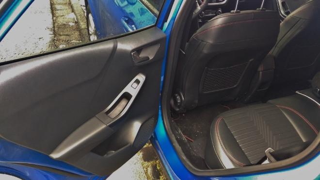 Ford Puma Hybrid Sitzbsank