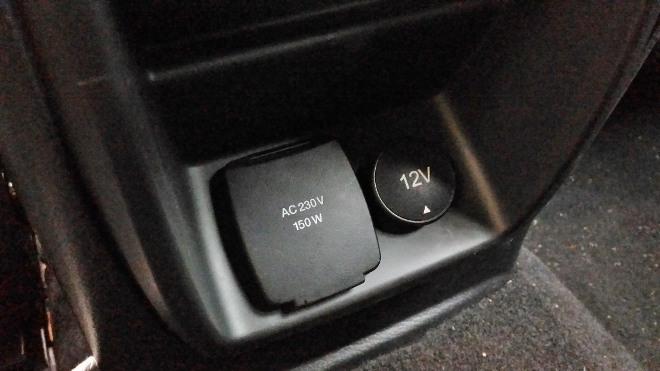AC 230V und 12V hinten Ford Ranger Pick up