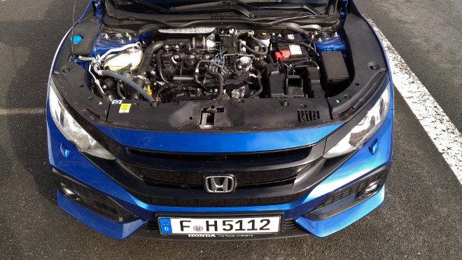 Honda Civic Hatchback 2018 Dreizylindermotor