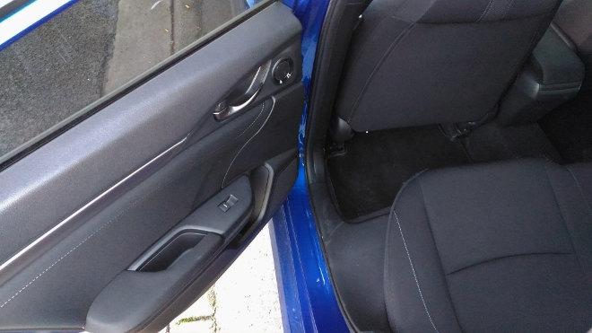 Honda Civic Hatch Sitze hinten