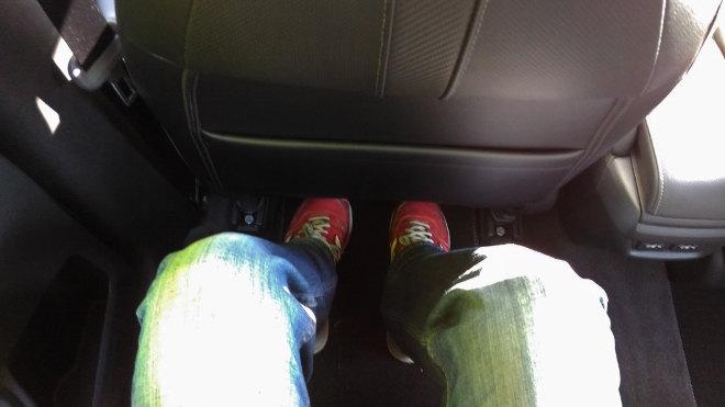 Honda Civic Limousine 2017 Beinfreiheit