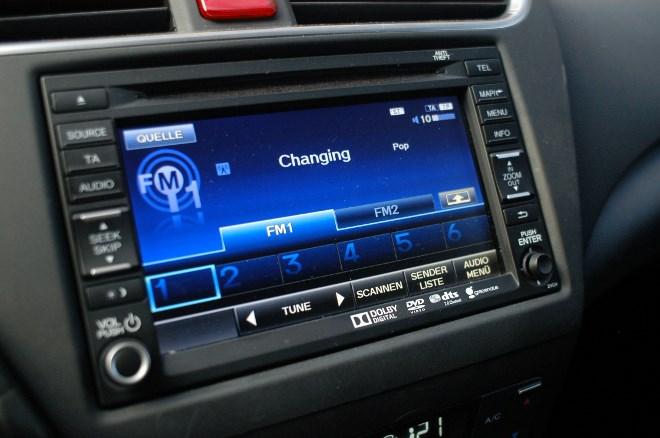 Honda Civic Tourer Diesel Monitor