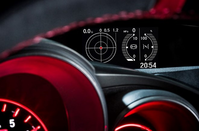 Civic Type R g-meter